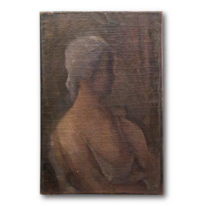 Otto Theodor W. Stein (1877-1958), Untitled, (Woman with white cloth), around 1928.