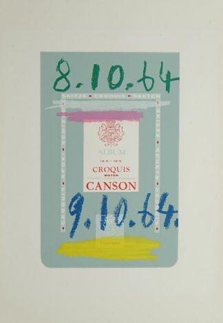 Pablo Picasso (1881-1973), from: Le Goût du Bonheur, 1970.