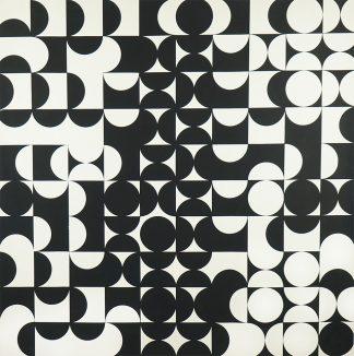 Zdeněk Sýkora (1920-2011), Black-White Structure, 1960s
