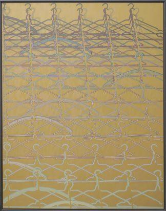 Nino Malfatti (1940), Holz und Eisen, 1975.