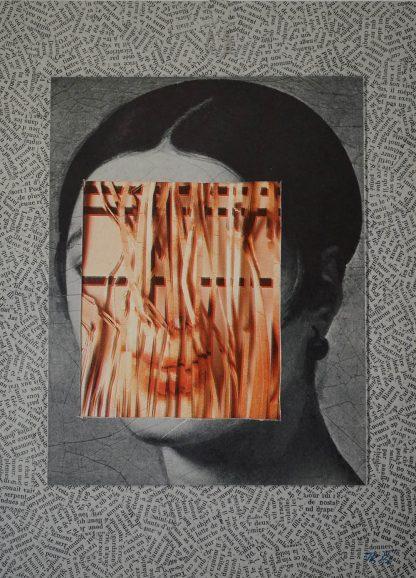 Jiří Kolář (1914-2002), untitled (Mademoiselle Rivière), 1996/97.