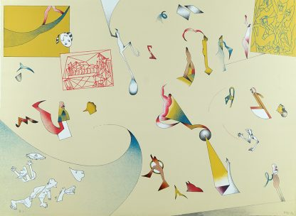 Jan Voss (1936), Hommage à Picasso, 1972