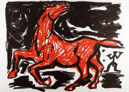 A.R. Penck (1939-2017), untitled.