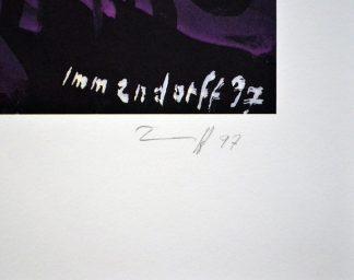 Jörg Immendorff, (1945-2007), Wie geht es der Künstlerhand, 1997.