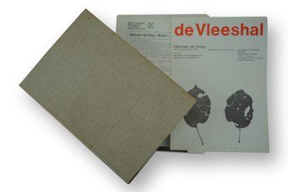 """Herman de Vries (1931), Artist's Publication: - 16 dm² - and Exhibition Catalog: """"16 dm² - an essay"""" """"het effekt van de hagelstorm van einde juli op onze appelboom"""", 1979."""