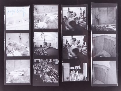 "Joseph Beuys (1921-1986), Photo Documentation ""The Pack"", 1970s."