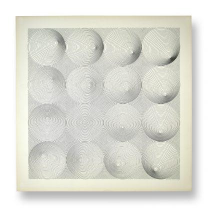Timm Ulrichs (1940), Visuelle Konstruktion, 1968.