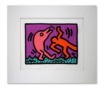 Keith Haring (1958-1990), Pop Shop V, 1989.