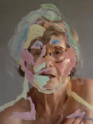 Horst Stasny (1941), Maria Lassnig, Self-portrait, 2003.