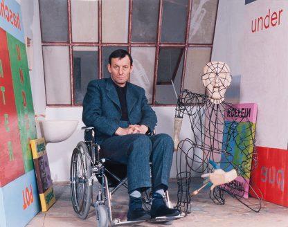 Andrea Stappert (1958), Martin Kippenberger, 1997.