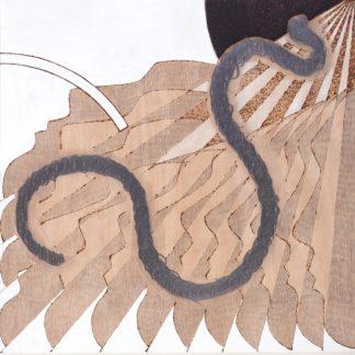 Eva Baumert (1966), Facing the Wurm, 2020.