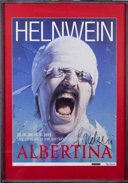 "Gottfried Helnwein (1948), poster ""Blackout"", Helnwein cover for Scorpions, 1982."