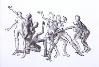 Ilona Ottenbreit (1972), Dance II, n.d.